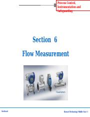 Section-6 Flow Meter.ppt