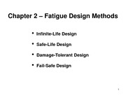 Section 1c - Fatigue Design Methods
