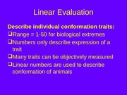 Linear Evaluation