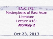 EALC 275_Lecture 18_Monkey 2