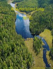 Lecture 1 Introduction to Forest Ecology-Sept 5 2014 actual