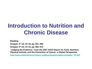 11:10 - Translating Nutritional Science into Chronic Disease Prevention