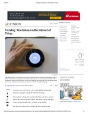 Trending_ New failures in the Internet of Things