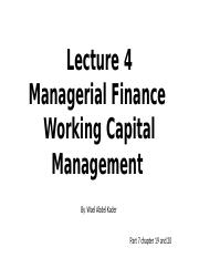 Lecture 4 Working Capital Management.pptx