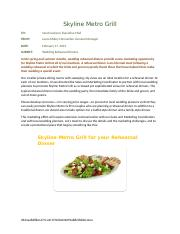Meal Essays and Research Papers | examples.essaytoday.biz