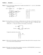 Computer Science 150 - Fall 1998 - Fearing - Midterm 1