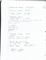 Algebra 2 Conpound, single, contious interest notes
