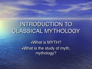 INTRODUCTION+TO+CLASSICAL+MYTHOLOGY+week1