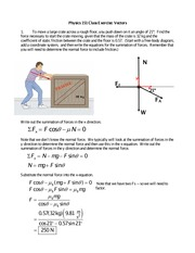 Friction-Class Exercise-KEY