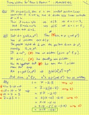 Fall 2011 - Math 145 - Exam 1 Review Material Solutions