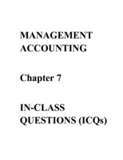 ICQs - Chapter 7 Questions-2