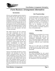 07-Farm Business Arrangement Alternatives.woSWOT.2008.01.22