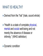 Week1_2 What is Public Health