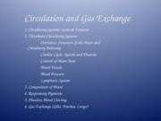 14 Circulation and Gas Exchange-Blue