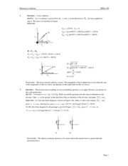 Solution_Tutorial_MS811M_Chapter 4 - Dynamics