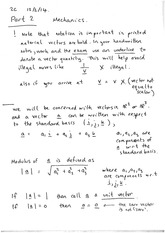 Scalar product of vectors (notes)