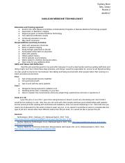 LAB REPORT- nuclear medicine technologist.docx