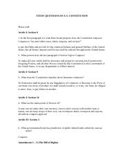 Study Questions on consititution KYLE DAVIS.doc