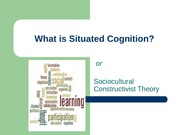 Situated Cognition student