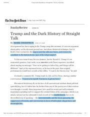 Trump and the Dark History of Straight Talk - The New York Times.pdf copy