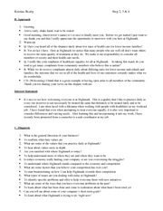 Assignment Sales Planner Approach, Interest Statement and Diagnosis-Steps 2, 3, and 4