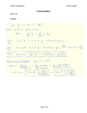 Practice problems SET with solutions 1