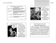 WOR HIST - Mexico Revolts Notes