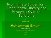 obesity_polycystic_ovary_syndrome-Emam.ppt