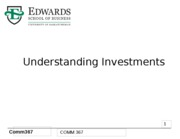 1 Introduction to Investments