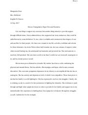 Heroes Triangulation Paper Personal Narrative.docx