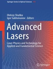 Advanced Lasers Laser Physics and Technology for Applied and Fundamental Science-book11.pdf