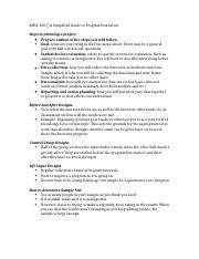 AHSC 260 → A Simplified Guide to Program Evaluation (to be printed).docx