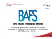 cost terminology and job costing_teupdate_final