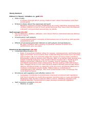 HGD Study Guide 8