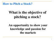 Presentation - Stock Pitch-1