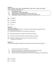 Titas 3 Docx Question 1 Antara Yang Berikut Yang Manakah Contoh Persuratan Sebelum Kedatangan Islam Selected Answer A Puteri Santubong Question 2 Course Hero