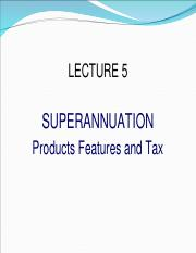 LECTURE 5 superannuation products.ppt