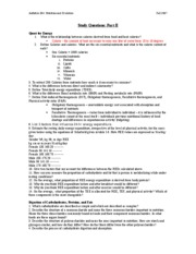 Anthrbio 364_Study Questions Part II