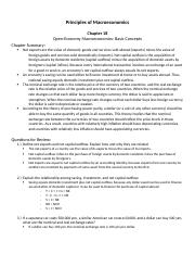 BUSM25543 - Chapter 18; Notes