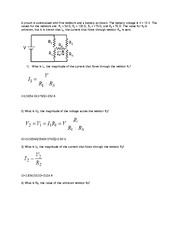 PHYS 121 ASSIGNMENT 9 SOLUTIONS