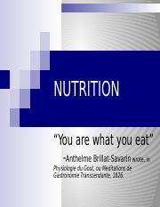 JR NUTRITION power point