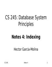 Notes04 Indexing