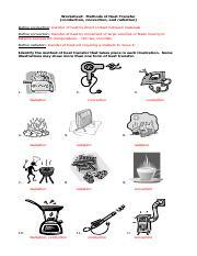 Methods of Heat Transfer Answers.pdf - Worksheet Methods of ...