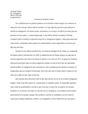 Composition 2-La fuerza de Estados Unidos