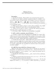 econ 4131 international finance spring 2002 exam Econ-122 introduction to econometrics fall and spring this course develops the theory and applications of regression analysis, which is the primary tool for empirical work in economics emphasis is placed on techniques for estimating economic relationships and testing economic.
