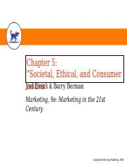 EvansBerman_Chapter_05.ppt