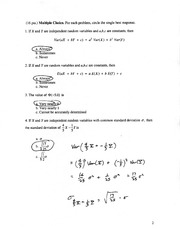 Solutions to Ma381, Exam 2 (purple version), F04