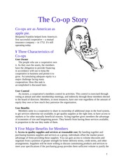 The Coop Story