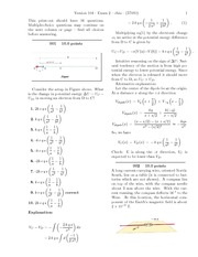 Exam 2-solutions physics