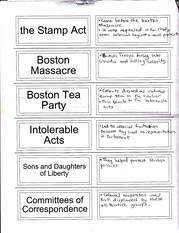 Stamp Act Notes